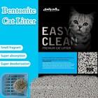 2015 wholesale clumping bentonite kitty sand