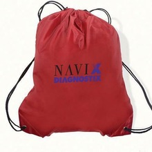 New recycle 190t polyester foldable bag with leather handle