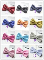Fashion Style Jacquard Weave 2-Layers Adult Men Women Dot Bow Tie Bow ties Accessories