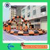 customized size inflatable go kart track inflatable race track inflatable zorb ball track for sale