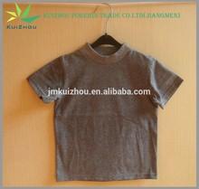 Atacado 100% algodão camisa de manga curta T