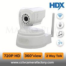 CMOS Sensor 1 MP 720P HD Nightvision 2Way Audio & Motion Detection New PTZ IP Cum Robot Twist Camera With wifi