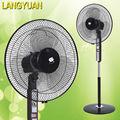2015 caliente de la venta del nuevo modelo de 16 pulgadas eléctrica ventilador de pie con alta calidad motor OEM motor ventilador de lujo