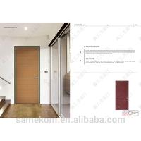 New Model Fireproof Entry Wood Door