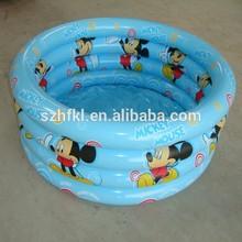 cartoon full surface printing inflatable swimming pool
