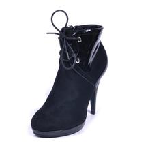 new design women fashion stiletto studded high heel buckle women winter oxford shoes
