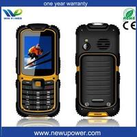 w26 big keyboard sos senior phone single use waterproof handphone