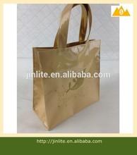 Reusable transparent pvc shopping bag with custom printing logo