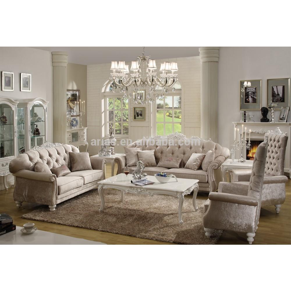New Classic Italian Style Sofa Set Living Room Furniture - Buy Italian