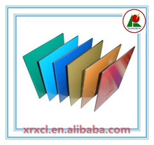 PE/PVDF Coated Color coated good looking glossy 3mm aluminum composite panel with good quality