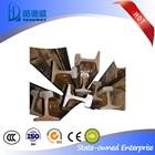 GB/YB Standard Q235/55Q light railway steel rail Manufacturer