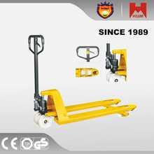 New Product Hydraulic Hand Pallet Truck olift 2.5ton pedestrian powered pallet trucks