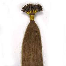 cheap 24 inch brazilian remy hair i tip hair extenion