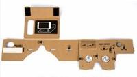 High quality Google cardboard VR xnxx movie kids 3d glasses with NFC tag