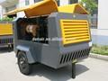 Source d'alimentation diesel compresseur d'air portatif et type de lubrification