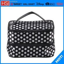 round cosmetic bag,aluminum makeup vanity box with lock,price of makeup kit box