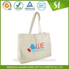 Alibaba China Customized Logo blank canvas tote bags