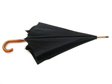 wooden shaft handle double layer promotional big umbrella