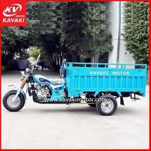 KAVAKI MOTOR Three-Wheeled Motorized Cargo Reverse Trike / Moped Tricycle