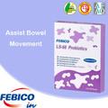 Etiqueta privada probiótico bolsita productos de cuidado de la salud nutricional suplemento de alimentos para bebés