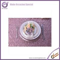 18804 Embroidery pattern elegant wedding 100 polyester fancy wedding table cloth