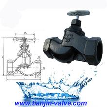screwed globe valve ss