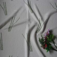 grey wholesale polyester bamboo mattress fabric