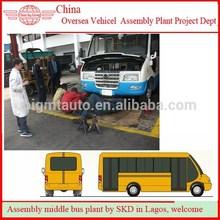 Nigeria Automobile and Minibus Spraying Line Testing Line and Car Repair Shop