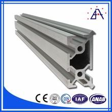 Natural anodized aluminum profile