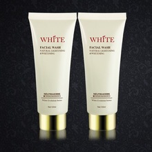 Wholesale price facial wash instant skin whitening and lifting natural cleansing foam