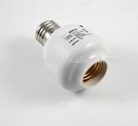 Wireless remote control lamp holder for screw cap
