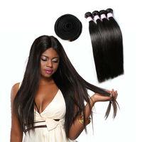 2015 New Style Soft Straight 22Inch A Lot 3 Bundles Of Virgin Brazilian Hair