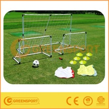 kids compelet soccer equipment soccer jersey cones ball and large or small plastic goal