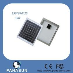30w HOT TUV CE UL CEC solar panel Mono crystalline