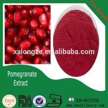organic pomegranate peel skin hull fruit juice powder
