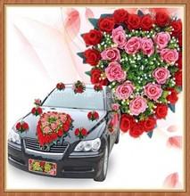 Cheap Wholesale Artificial Car flowers For Wedding Decoration