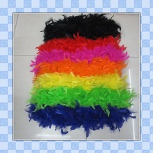28g Feather Boa party ball decor Feather Strip Plenty Color selected for wedding\party\bar Flower decoration
