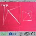 piramidi per la guarigione di cristallo di quarzo trasparente