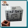 Decorativo wpc pilar máquina de moldeo por extrusión