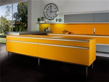 flat kitchen furniture free/economic modular kitchen
