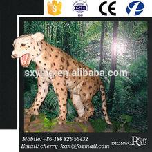 SXY Dinoworld Amusement Park Mechanical Animatronic Leopard Model
