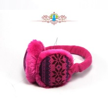Colorful lady's ear muff Factory Low Price colorful ear bag / earmuffs