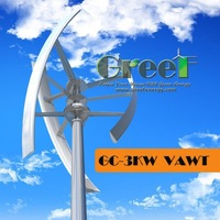 New VAWT! Low noise on-grid 3kw Vertical Axis Wind Turbine