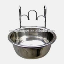 Stainless Steel Single Pet Dog Bowl