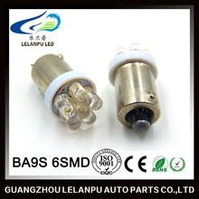 12v led light bulb 6smd BA9S led auto led lamp