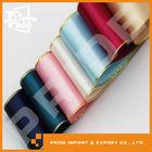 PR-JR024 Polyester Gold Border Satin Ribbon