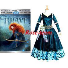 Fantasia-Rose-team Fantasia Anime Custom-made Merida Princess Dress The Brave Legend Dress Cosplay Costume