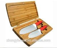 luxury wooden handmade customize wooden knife display case