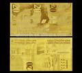 Nuovo 20 Krona placcato oro banconota regalo, set completo Svezia banconota raccolta