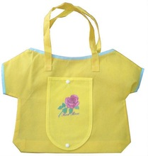 Guangzhou customised high quality recycle polyester fold bags for kids or promotion